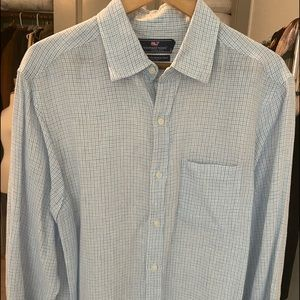 VINEYARD VINES- 100% Linen Shirt Sz L